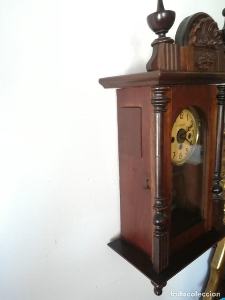 Relojes de pared: RELOJ PARED COPPEL CARGA MANUAL - Foto 3 - 194491440
