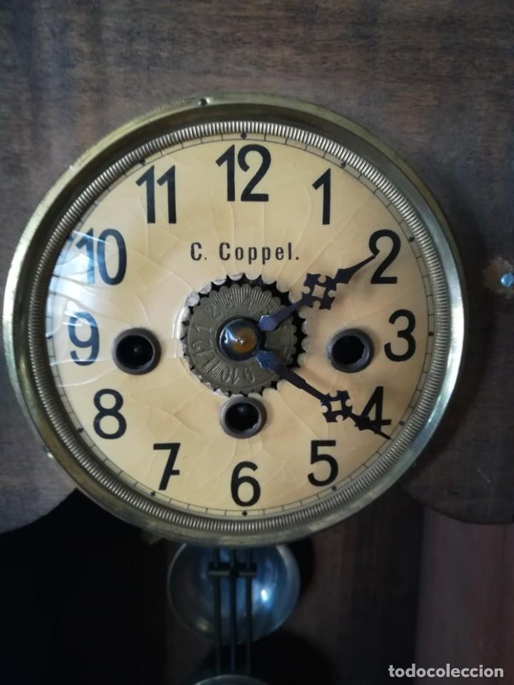 Relojes de pared: RELOJ PARED COPPEL CARGA MANUAL - Foto 4 - 194491440