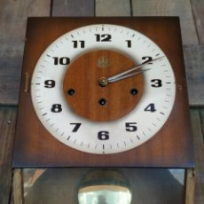 Relojes de pared: RELOJ DE PARED ALEMAN 3 ABETOS. Lote 194572427