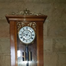 Relojes de pared: RELOJ LENZKICH ( 1 MILLÓN) ( CON SEGUNDERO). Lote 194585362