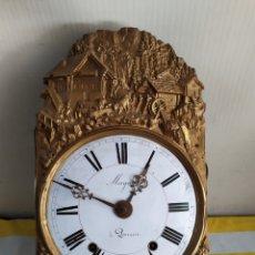 Relojes de pared: ANTIGUA CABEZA DE RELOJ MOREZ PRECIOSO FRONTAL SIGLO XIX. Lote 194634113
