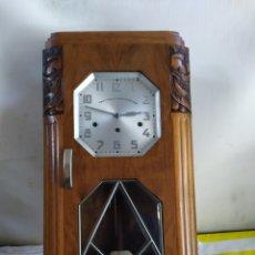 Relojes de pared: ESPECTACULAR RELOJ CARRILLÓN WESTMINSTER SONERIA A CUARTOS. Lote 194668545