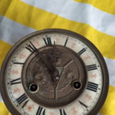 Relojes de pared: ANTIGUA MAQUINARIA PARA RELOJ ALFONSINO SIGLO XIX. Lote 194668745