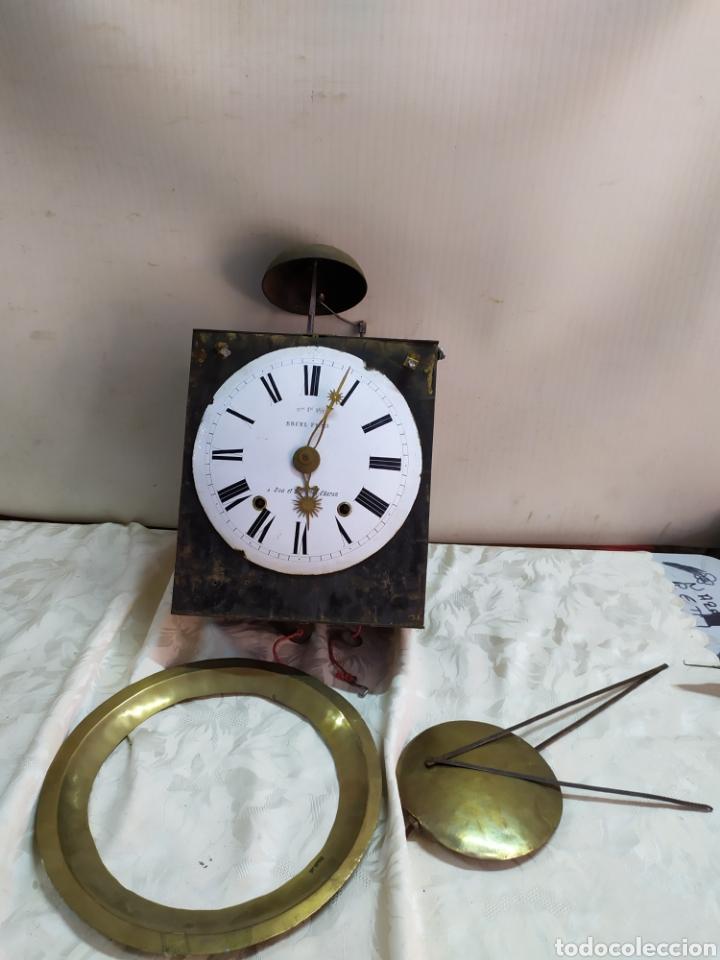 ANTIGUO RELOJ MOREZ DE CAMPANA SIGLO XIX (Relojes - Pared Carga Manual)