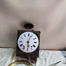 Relojes de pared: ANTIGUO RELOJ MOREZ DE CAMPANA SIGLO XIX. Lote 194686818
