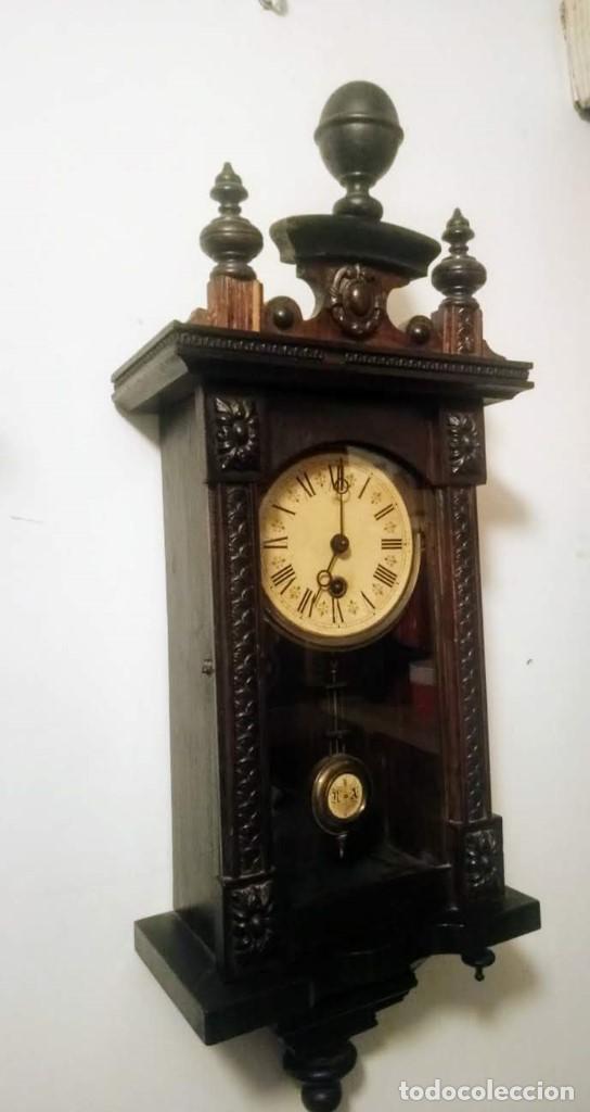 Relojes de pared: Regulador Selva Negro con leve trabajos de renovación. - Foto 2 - 194751196