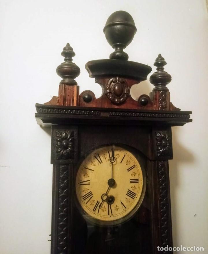 Relojes de pared: Regulador Selva Negro con leve trabajos de renovación. - Foto 3 - 194751196