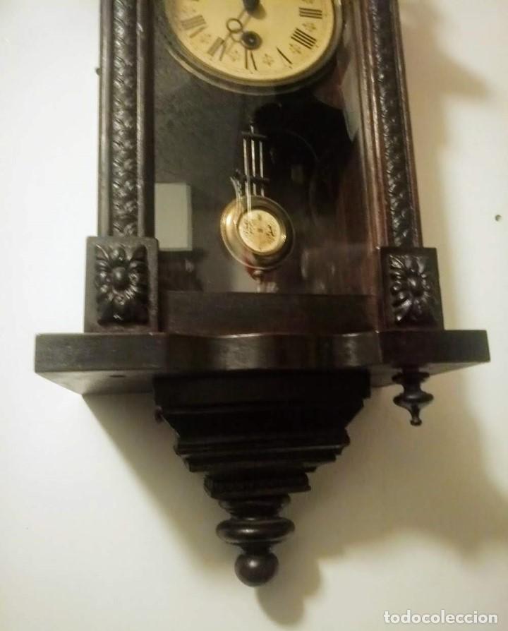 Relojes de pared: Regulador Selva Negro con leve trabajos de renovación. - Foto 4 - 194751196