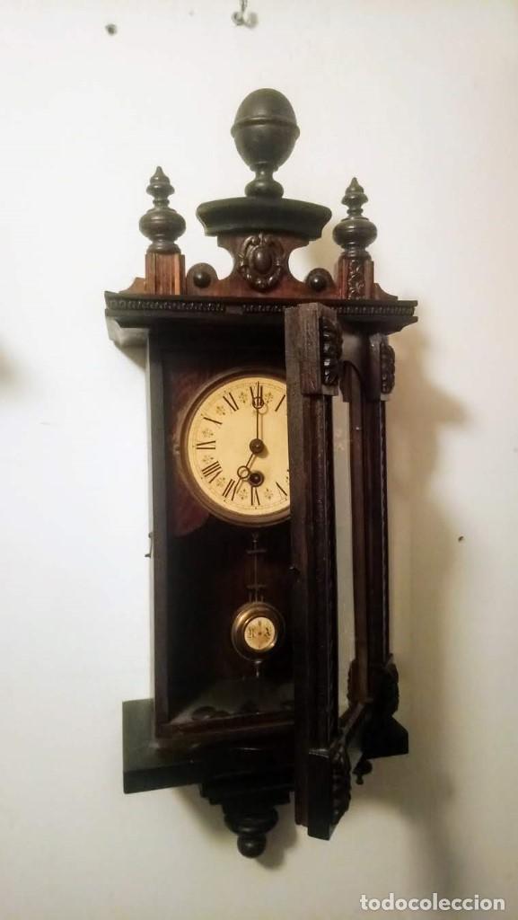 Relojes de pared: Regulador Selva Negro con leve trabajos de renovación. - Foto 5 - 194751196