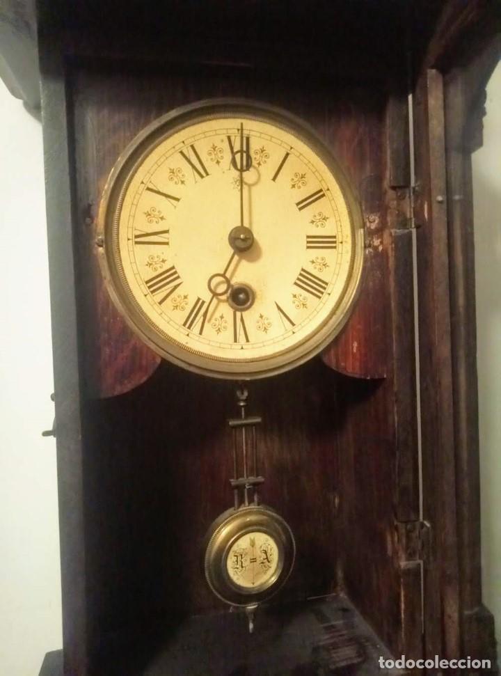 Relojes de pared: Regulador Selva Negro con leve trabajos de renovación. - Foto 6 - 194751196