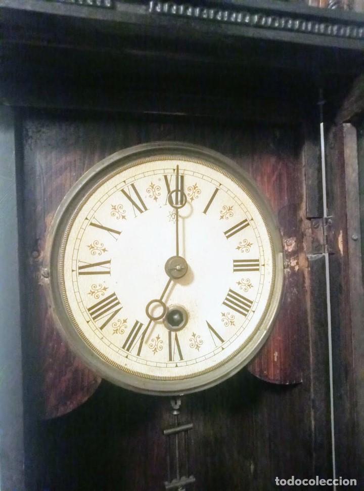 Relojes de pared: Regulador Selva Negro con leve trabajos de renovación. - Foto 7 - 194751196