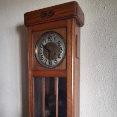 Relojes de pared: ANTIGUO RELOJ DE PARED CARRILLON FUNCIONANDO. Lote 195001945