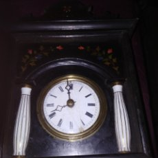 Relojes de pared: MÁQUINA DERRELOJ RRATERA NO TIENE PENDOLA NICADENAS. Lote 195034868