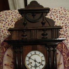 Relojes de pared: RELOJ DE PARED A CUERDA. Lote 195068072
