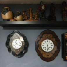 Relojes de pared: RELOJ ANTIGUO OJO DE BUEY MINI. Lote 195108328