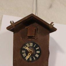 Relojes de pared: RELOJ CUCO DE MADERA PARA RESTAURAR . Lote 195160897