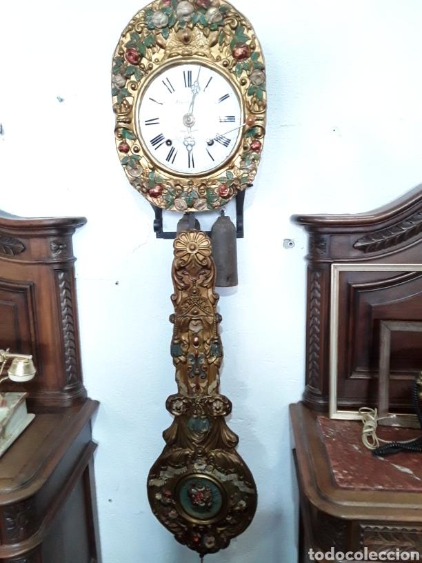 RELOJ MORE DE PENDULO REAL (Relojes - Pared Carga Manual)