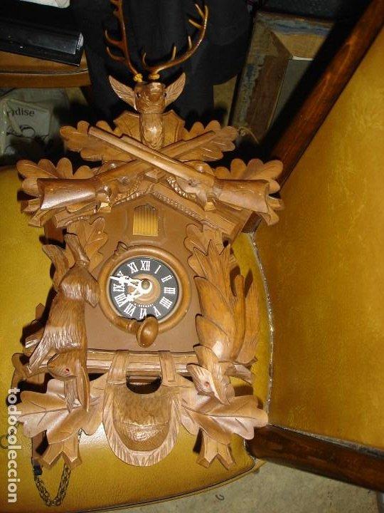 BONITO RELOJ DE CUCO DE LA SELVA NEGRA VER FOTOS ESTADO CASI COMO NUEVO (Relojes - Pared Carga Manual)