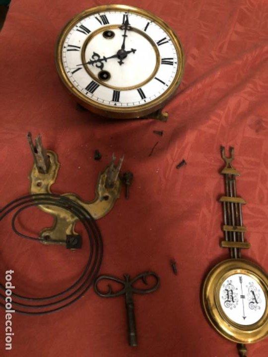 MÁQUINA RELOJ ANTIGUA COMPLETA (Relojes - Pared Carga Manual)