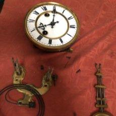 Relojes de pared: MÁQUINA RELOJ ANTIGUA COMPLETA. Lote 195298865