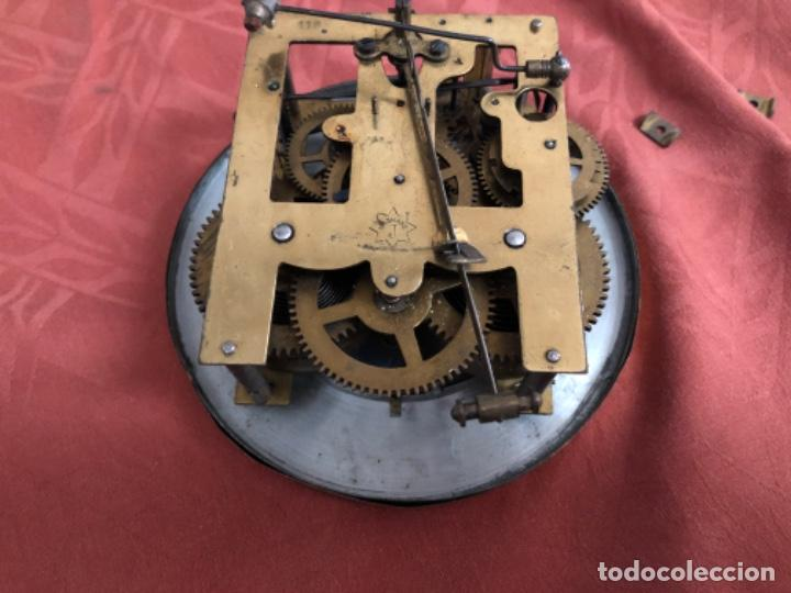 Relojes de pared: Máquina reloj antigua completa - Foto 4 - 195298865