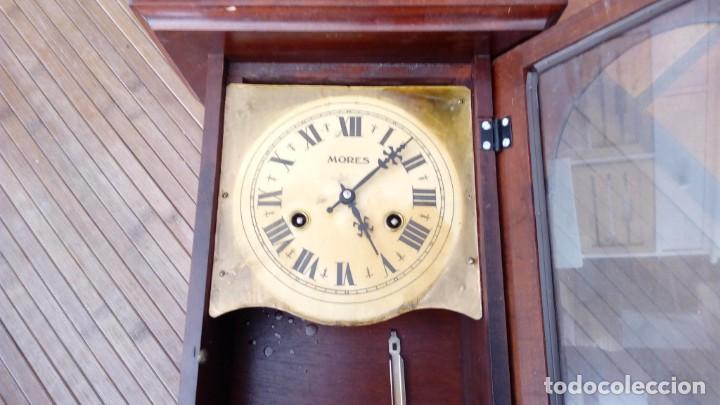 Relojes de pared: Reloj de pared péndulo mores desconozco año leer - Foto 3 - 195300356