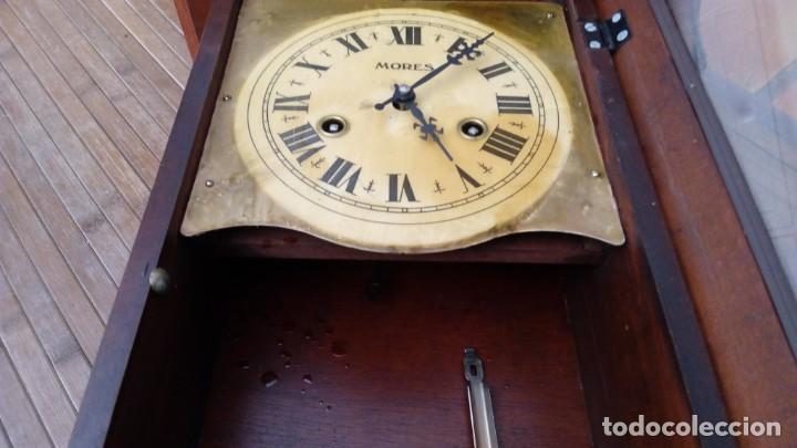 Relojes de pared: Reloj de pared péndulo mores desconozco año leer - Foto 5 - 195300356