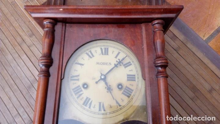 Relojes de pared: Reloj de pared péndulo mores desconozco año leer - Foto 7 - 195300356