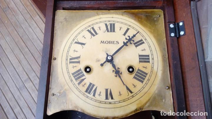 Relojes de pared: Reloj de pared péndulo mores desconozco año leer - Foto 12 - 195300356