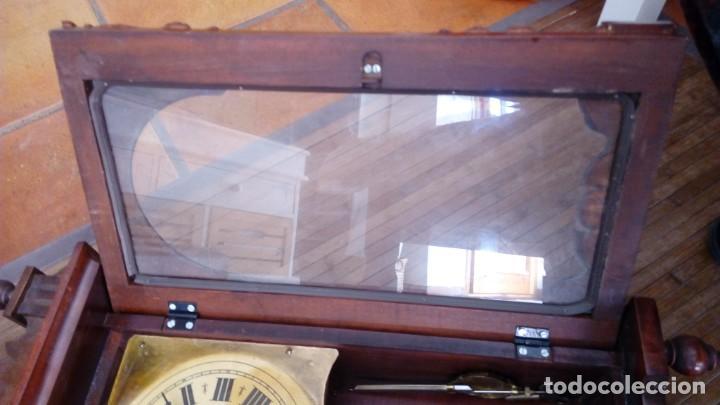 Relojes de pared: Reloj de pared péndulo mores desconozco año leer - Foto 13 - 195300356