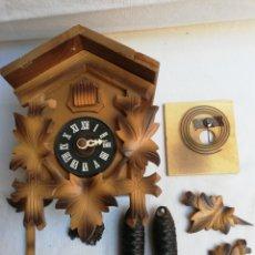 Relojes de pared: RELOJ DE CUCO PARA RESTAURAR O DESPIECE. II. Lote 195384288