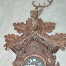 Relojes de pared: ANTIGUO RELOJ DE CUCO, PARA PIEZAS O RESTAURACIÓN.. Lote 195413755