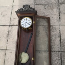 Relojes de pared: RELOJ DE PARED LENZKIRCH ANTIGUO NO FUNCIONA. Lote 195432695