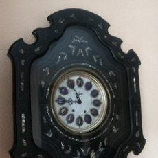 Relojes de pared: RELOJ OJO DE BUEY NACAR FUNCIÓNANDO PERFECTO. Lote 195433785