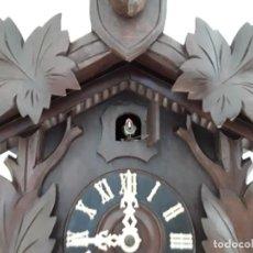 Relojes de pared: ANTIGUO RELOJ DE CUCO SELVA NEGRA, AÑOS ' 40. Lote 195672606