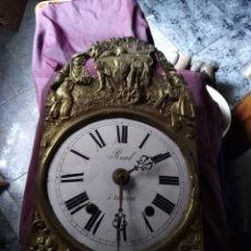 Relojes de pared: CABEZA DE RELOJ DE MOREZ LEFALTA LACANPANA. Lote 195814557