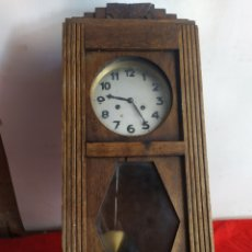 Relojes de pared: ANTIGUO RELOJ DE PARED CON SONERIA. Lote 196298688
