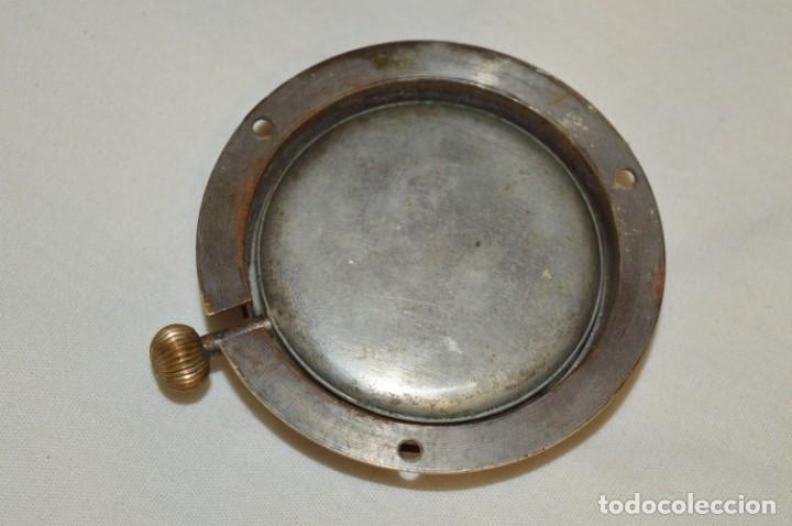 Relojes de pared: G. J . - Antiguo reloj de BARCO / AVIÓN - De carga manual / Funcionando - Marca G.J. ¡Mira fotos! - Foto 6 - 196473851