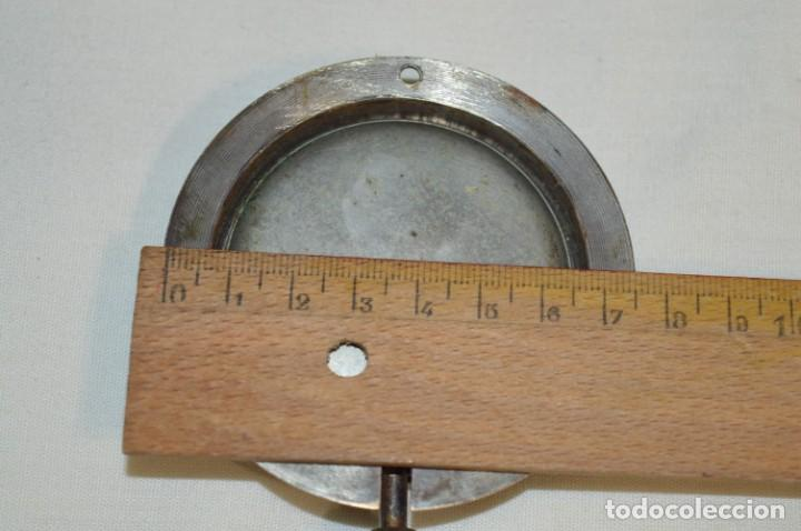 Relojes de pared: G. J . - Antiguo reloj de BARCO / AVIÓN - De carga manual / Funcionando - Marca G.J. ¡Mira fotos! - Foto 7 - 196473851