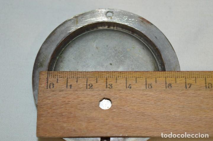 Relojes de pared: G. J . - Antiguo reloj de BARCO / AVIÓN - De carga manual / Funcionando - Marca G.J. ¡Mira fotos! - Foto 8 - 196473851
