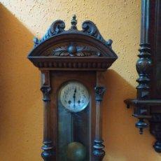 Relojes de pared: RELOJ ANTIGUO ALFONSINO. Lote 197755120