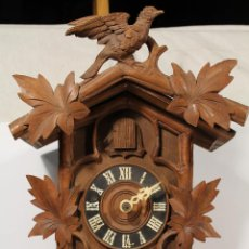 Relojes de pared: RELOJ CUCO DE MADERA PARA RESTAURAR . Lote 198171668