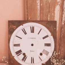Relojes de pared: BONITO RELOJ ANTIGUO CLÁSICO ANTIQUE UNIQUE. Lote 162918740