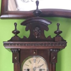 Relojes de pared: RELOJ DE PARED, FINALES DEL SIGLO XIX. Lote 198749312