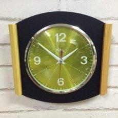 Relojes de pared: RELOJ DE PARED BLU FRASINO BY DOMENICO E DOMENICONI ITALIA 1970`S. Lote 199052447