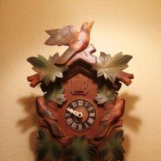 Orologi da parete: ANTIGUO RELOJ CUCU-CUCO DE CUERDA ,MADE IN GERMANY.. Lote 199325478