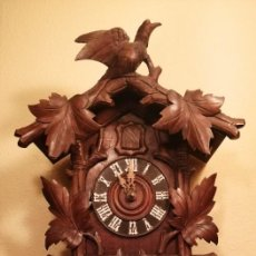 Relojes de pared: ANTIGUO RELOJ CUCU-CUCO DE CUERDA.DE TAMAÑO MUY,MUY GRANDE.. Lote 199330816
