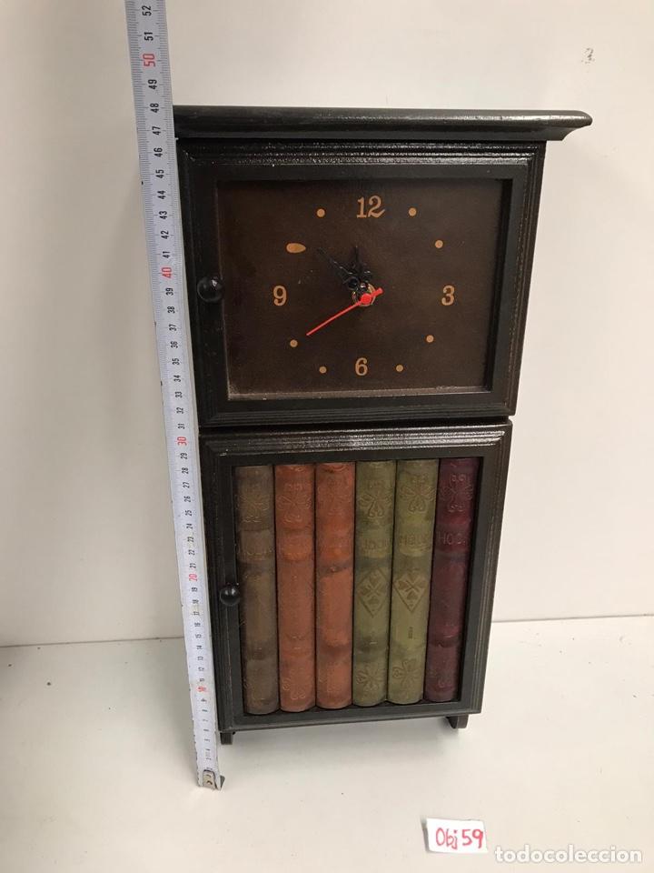 Relojes de pared: Reloj cuelga llaves - Foto 2 - 238673900