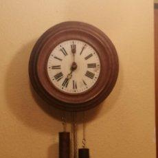 Orologi da parete: ANTIGUO RELOJ DE PARED TIPO RATERA.. Lote 200273176