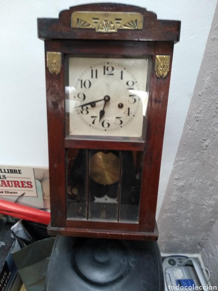 Relojes de pared: Reloj pared antiguo - Foto 2 - 200724556